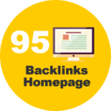 95 backlinks homepage