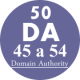 50 Backlinks DA45-54
