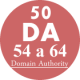 50 Backlinks DA54-64