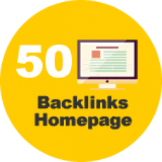 50 backlinks homepage